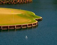 TPC Sawgrass 17th Island Green