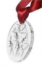 Lalique - 2014 Annual Ornament Holly, Clear