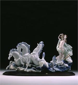 Lladro The Birth Of Venus Nielsens Gifts