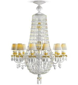 Lladro - Winter Palace Chandelier 12 lights (Gold) US