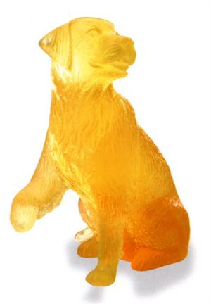 Daum Crystal - Golden Retriever - 03280