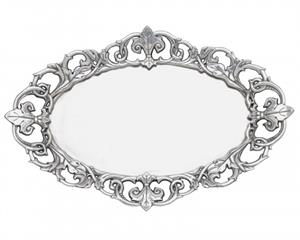 Arthur Court - Fleur-De-Lis Oval Serving Tray
