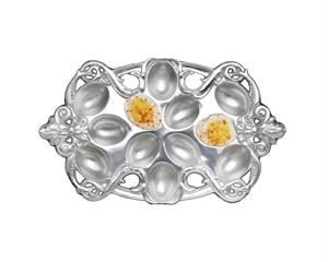 Arthur Court - Fleur-De-Lis Deviled Egg Holder