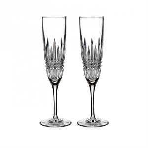 Lismore Diamond - Flutes, Pair