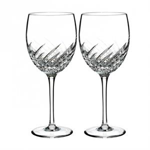 Waterford - Essentially Wave Goblet, Pair