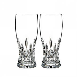 Waterford - Lismore Pint Glass, Pair
