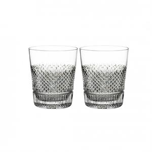 Waterford - Diamond Line Double Old Fashioned, Pair