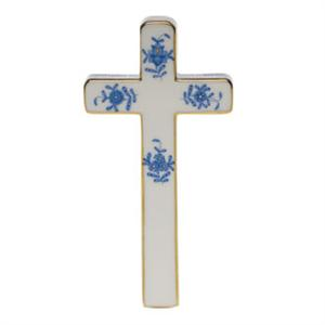 Cross - Chinese Bouquet Blue