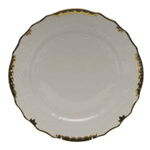 Herend - Princess Victoria - Service Plate, Black