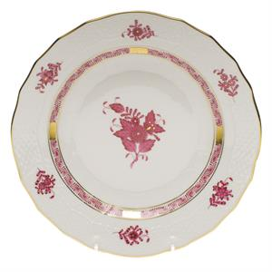"Herend Chinese Bouquet, Dessert Plate 8.25"" Pink"