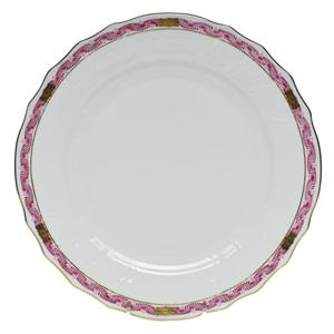 Herend - Chinese Bouquet Garland Raspberry Dinner Plate