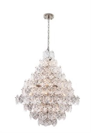 Viz art glass overture collection chandelier 24 bulbs viz art glass overture collection 24 bulbs aloadofball Choice Image