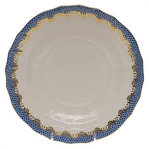 Herend - Fish Scale Blue Dessert Plate