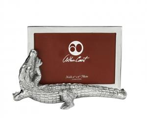 Arthur Court - Alligator Photo Frame 4x6