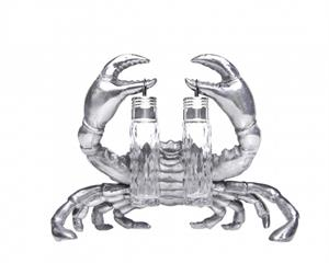Arthur Court - Crab Hanging Salt & Pepper Set