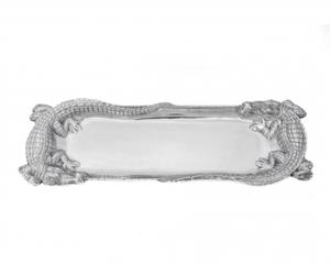 Arthur Court - Alligator Figural Oblong Tray