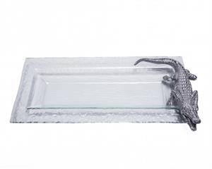 Arthur Court - Alligator Oblong Tray