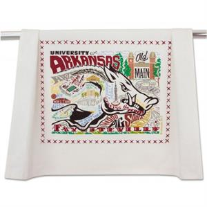 Catstudio - University of Arkansas Collegiate Dish Towel  Preview Product on Storefront