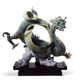 Lladro - Auspricious Dragon (green)