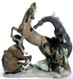 Lladro - Horses' Group