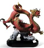 Lladro - Auspicious Dragon (red)