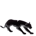 Daum Crystal - Large Black Panther -03139-4