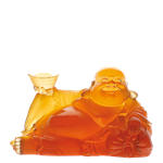 Daum Crystal - Happy Reclining Buddha - 06390