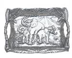 Arthur Court - Elephant Clutch Tray