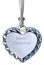 2020 Waterford - Heart Ornament