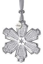 2020 Waterford - Snowcrystal Ornament