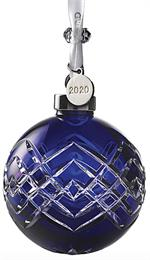 2020 Waterford - Ball Ornament 3.8