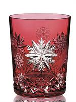 2020 - Waterford Snowflake Wishes Love Prestige Edition DOF, Cranberry