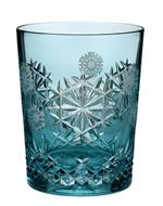 Waterford - 2018 Snowflake Wishes Happiness Prestige Edition Aqua Doubled Old Fashioned