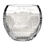 House of Waterford Crystal America the Beautiful Washington D.C. 9.3in Bowl