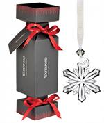 Waterford - Cracker with Mini Snowflake Ornament
