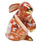 Herend - Scratching Bunny, Multicolor