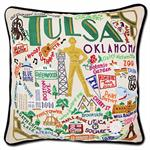 Catstudio - Tulsa Hand-Embroidered Pillow