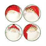 Vietri - Old St. Nick Assorted Canape Plates
