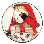 Vietri - Old St. Nick Cookie Platter