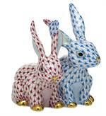 Herend - TWISTED BUNNIES
