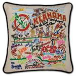 Catstudio - Oklahoma Hand-Embroidered Pillow