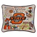 Catstudio - Oklahoma State University Embroidered Pillow