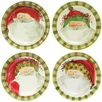 Vietri - Old St. Nick Assorted Dinner Plate